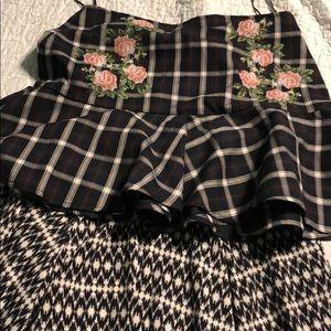 Set of 2 mini skirts
